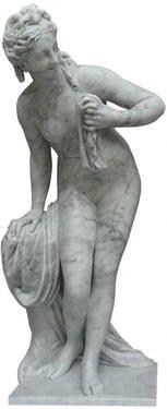 Copie grandeur nature en marbre, Sculpt Allegrain - LOUVRE. At. Romel