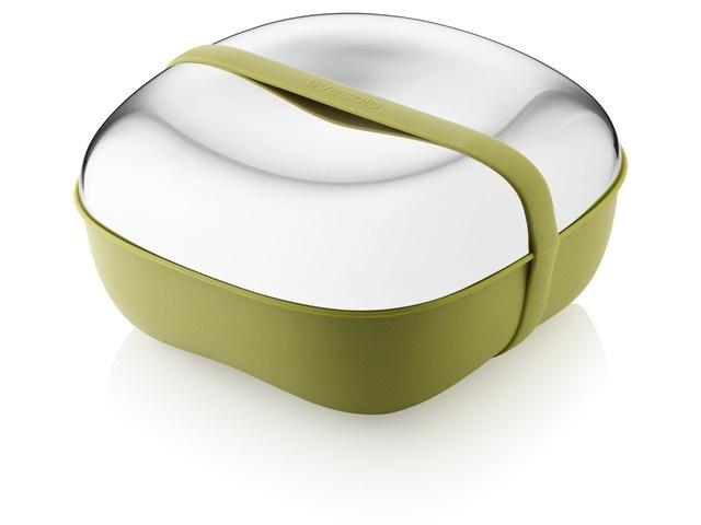 Contenitore ermetico Lunchbox con forchetta e piatti inclusi - Eva Solo - Bohero