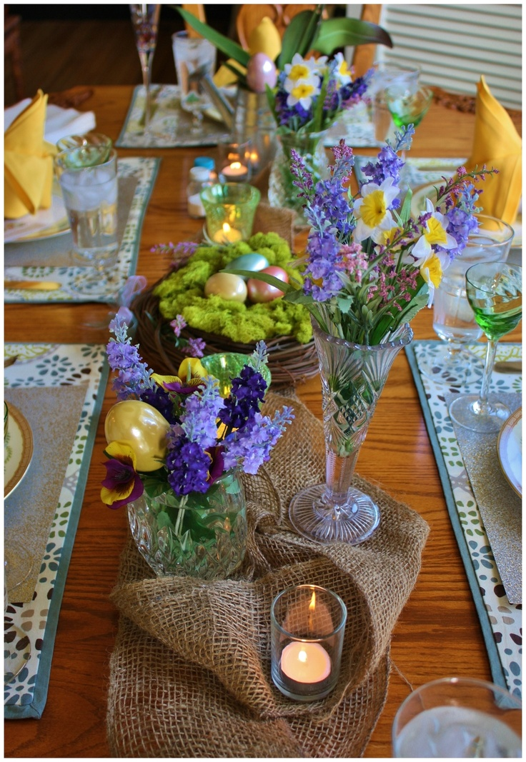 188 best easter tables images on pinterest table decorations after the freezing cold winter days it is time to enjoy the sun again march is an anouncement for family gatherings and garden parties negle Gallery