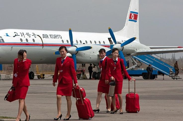 Air Koryo Cabin Crew Plane Girls With Charm Pinterest