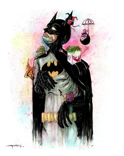 """Tonight To Knight"" Giclee Print by Alex Pardee"