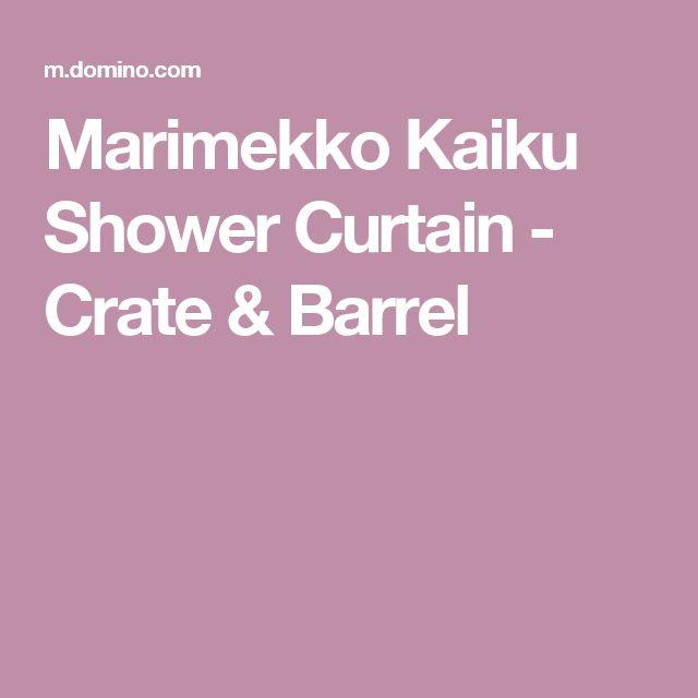 1000+ ideas about Marimekko Shower Curtain on Pinterest : Shower Curtains, Marimekko Bedding and ...