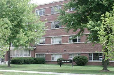 Garver Hall.  The air-conditioned coed dorm sleeps up to 260.  Facility features include: fully equipped kitchen, lounge and a recreation area on the first floor with a ping-pong table, air hockey table, pool table, foosball table, vending and ice machines. The residence hall also has two laundry facilities located on the ground level.