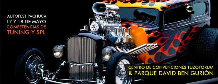 Competencias de #Tuning y #SPL en el AutoFest Pachuca 2014 en Centro de Convenciones Tuzoforum &PArque David Ben Guirón 17 y 18 de Mayo