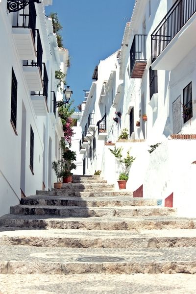 The party town of Malaga, Spain. …known for its quiet, pretty streets.