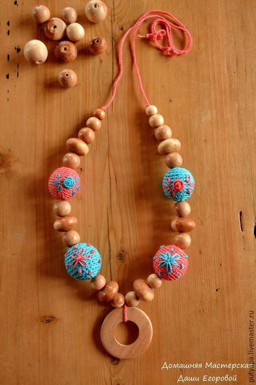 """Слингобусы """"Нежность"""" - коралловый, цветочный, слингобусы, слингобусы мамабусы, слингобусы крючком, слингобусы купить"""