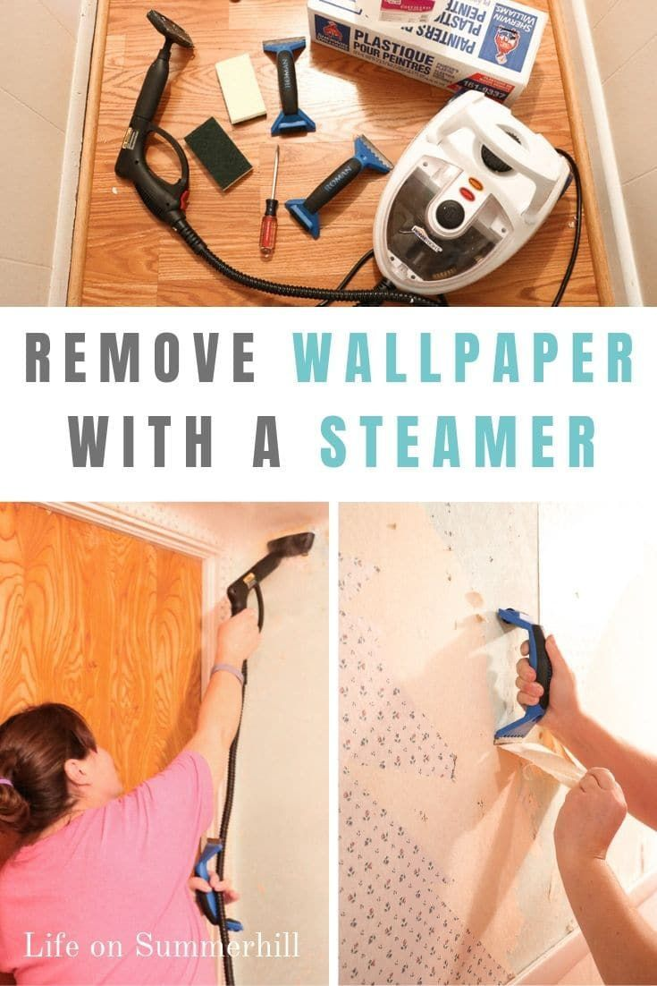 How To Remove The Wallpapers In A Simple Way With A Steamer In 2020 Removable Wallpaper Removing Old Wallpaper Removable Wallpaper Diy