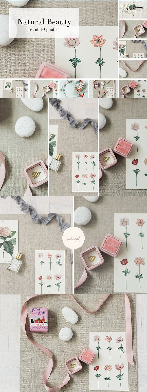 Natural Beauty stock collection - 10 by Nellaino on @creativemarket