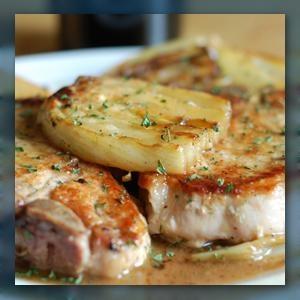 Braised Pork Chops And Fennel Recipe — Dishmaps