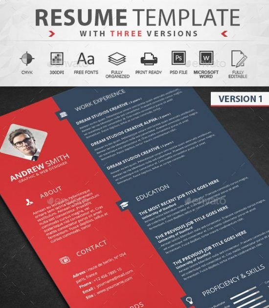 38 best Resume PSD images on Pinterest Curriculum, Resume and - resume samples for designers