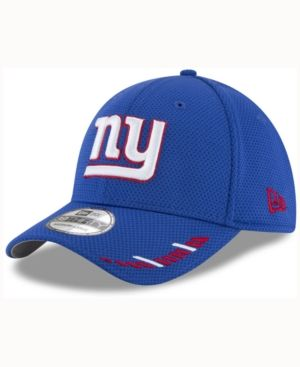 New Era New York Giants Team Hashmark 39THIRTY Cap - Blue S/M