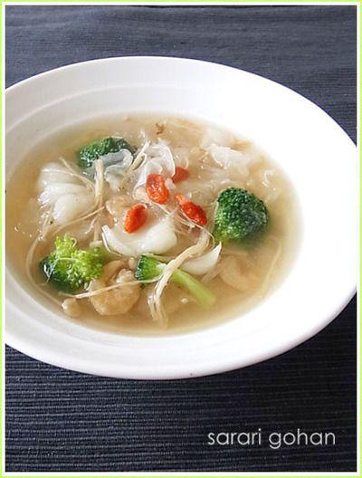 白きくらげと百合根の潤い薬膳スープ by epicesさん | レシピブログ ...