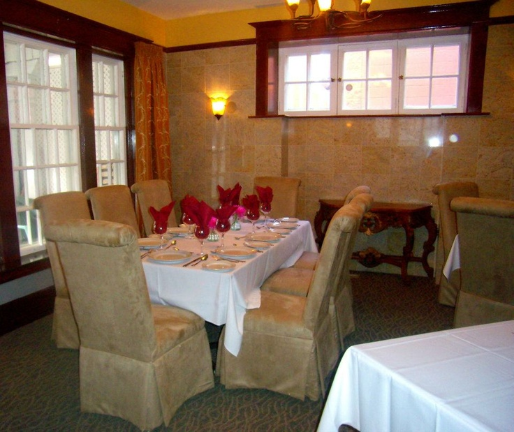 Great authentic Italian cuisine, excellent service, beautiful ambiance, and private dining rooms for family or business.  Call them now!