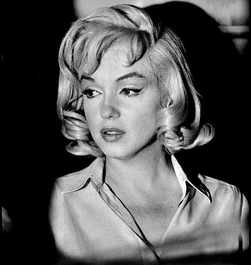 Marilyn Monroe Believe this was the night she was released from the psychiatric hospital
