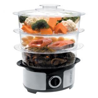 cuit vapeur électrique Lacor sans BPA ni phtalate 60€