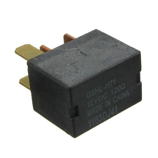 Car Air Conditioning Relay Black 12V for Honda Civic Jazz CR-V FR-V Accord. Car Air Conditioning Relay Black 12v For Honda Civic Jazz Cr-v Fr-v Accord     specification:    100% Brand New!!!  colour: Black  pin Quantity: 4  voltage: 12v Dc (120?)  oem Cross Refernce: 39794-sda-a05    fitment: (just For Reference)    for Honda  civic (2006-on)  cr-v (2007-on)  fr-v (2004-on)  accord (2003-on)  jazz (2005-on)    note:    1. Please Check The Size Measurement Chart Carefully Before Making…