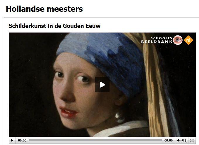 Hollandse meesters op schooltv.