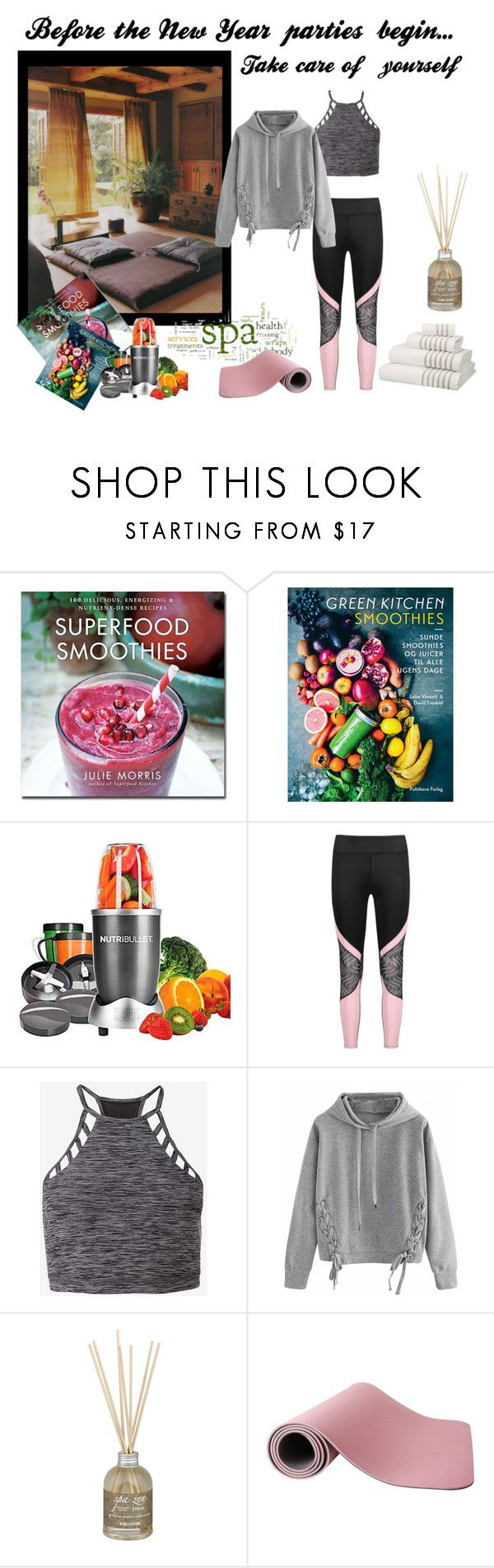 """Just Starting Out"" by jjsunnygirl on Polyvore featuring Williams-Sonoma, NutriBullet, Express, WithChic and John Lewis"