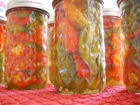 Rich Ideas: SEPTEMBER- Canning Jalapeno Peppers