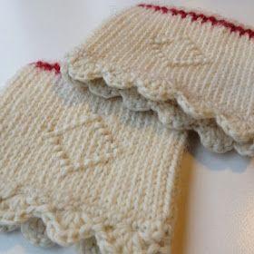 Twined knitting/tvåändsstickning