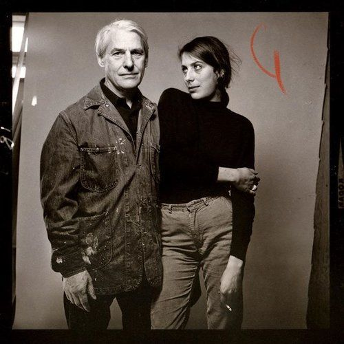 Susan Brockman and Willem de Kooning, NY, January 26, 1964