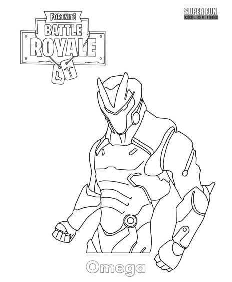 omega skin fortnite y dibujos para colorear e1542380413263 - imagenes de fortnite personajes para dibujar