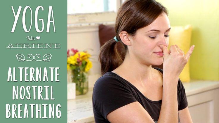 Yoga Breathing | Alternate Nostril Breathing (+playlist)