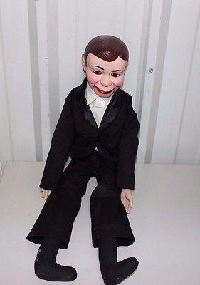 Charlie McCarthy Ventriloquist Dummy Doll - Juro Novelty 1977 - http://hobbies-toys.goshoppins.com/vintage-antique-toys/charlie-mccarthy-ventriloquist-dummy-doll-juro-novelty-1977/