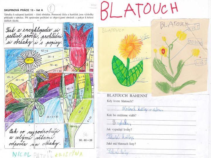 Jarní květiny - 2. třída