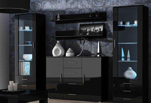 نيش مودرن تركى ارقي انواع النيش التركي احلام مراهقات Living Room Sets Furniture Black Furniture Living Room Modern Dining Room