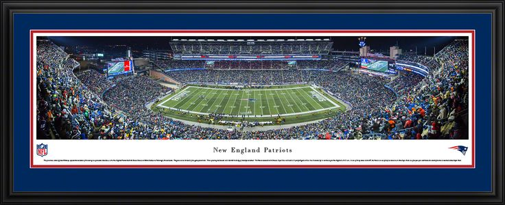This New England Patriots Panoramic - Gilette Stadium Picture was taken by Blakeway Worldwide Panoramas and is available in many different formats!