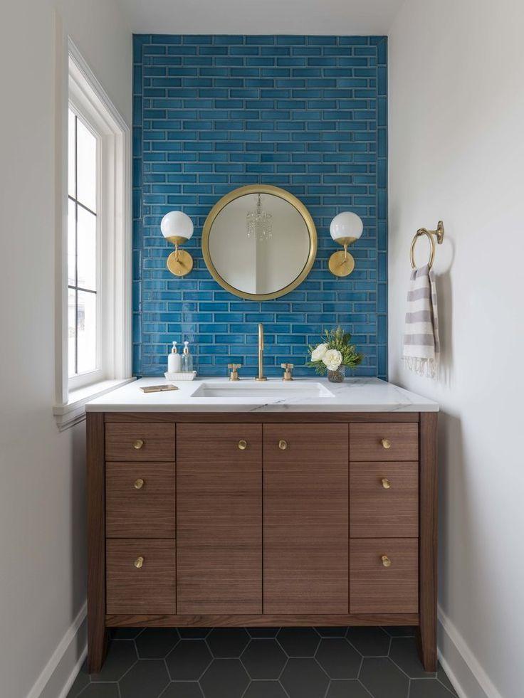Alternatives to White Subway Tile | Tile bathroom, Pink ...