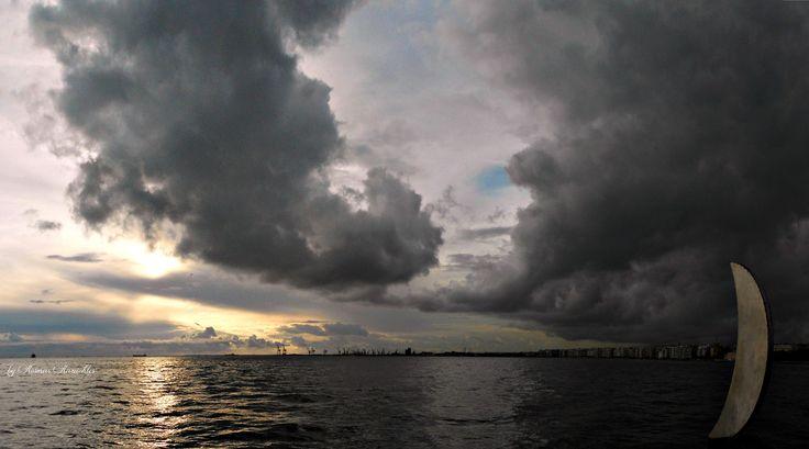 Panorama: Sunset by Kosmas Karachles on 500px