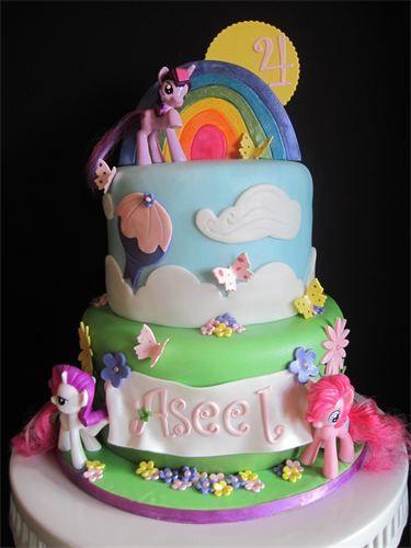 185 best My Little Pony Cakes images on Pinterest Birthday cakes
