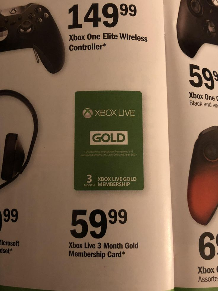 Price increase coming for Xbox Live or misprint in this Meijer Christmas catalog.