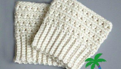 FREE Crochet Pattern - X Stitch Challenge Boot Cuffs