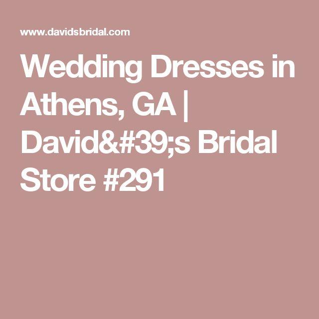 Wedding Dresses in Athens, GA | David's Bridal Store #291