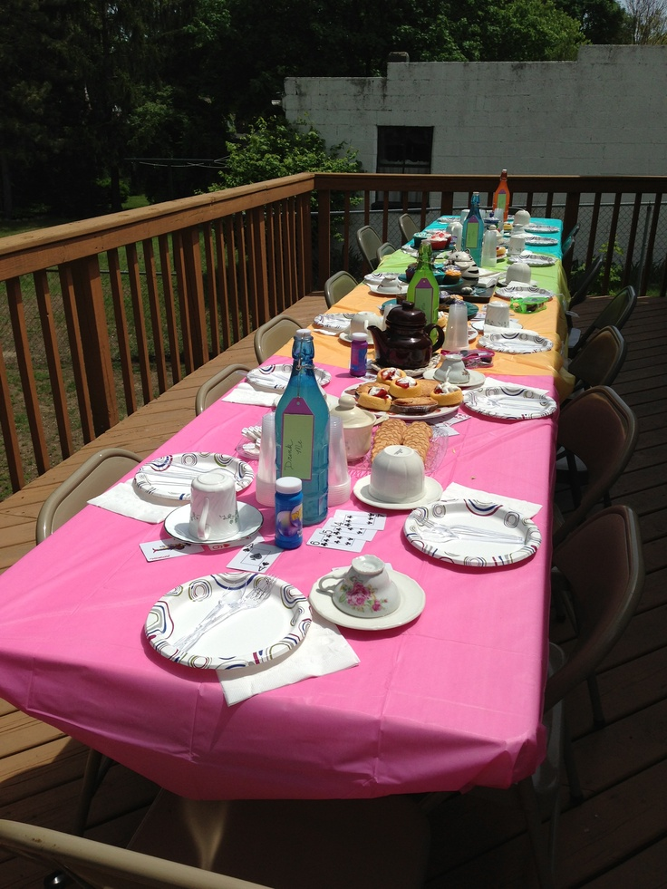 28 Best Tea Party Baby Shower Images On Pinterest Baby Shower