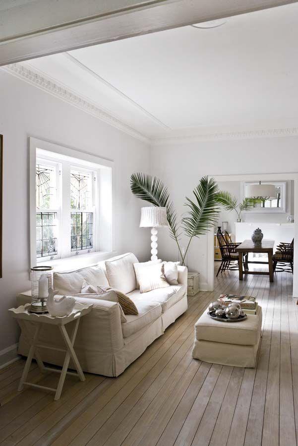 Paula Joye's home - love the palms