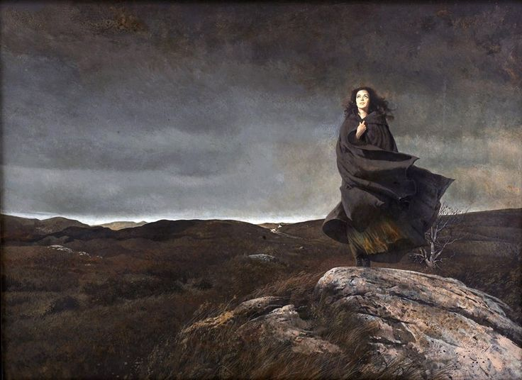 Robert McGinnis (American, born in 1926) - Wuthering Heights