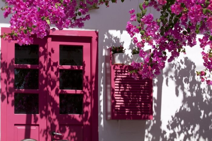 Architecture and colours of Antiparos island