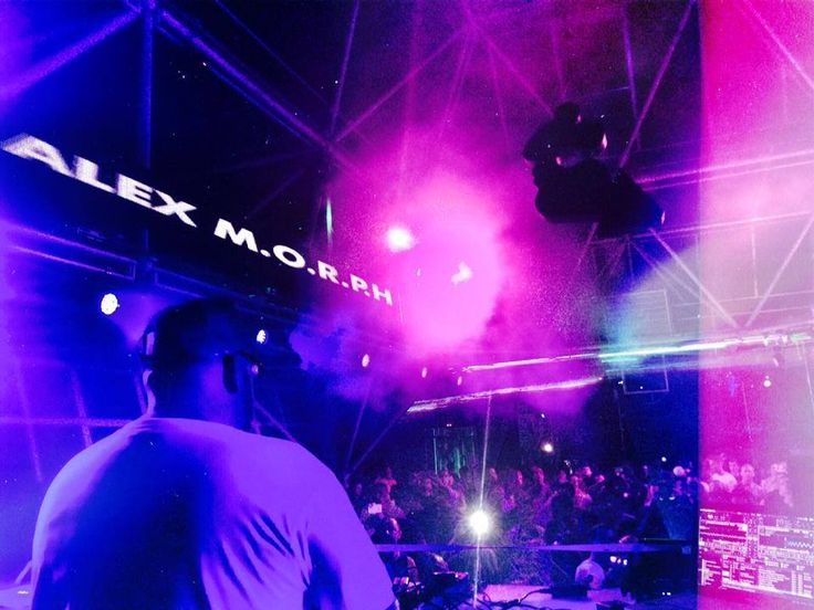 Alex M.O.R.P.H. playing at HeavensGate / sunk right now at Privilege Ibiza