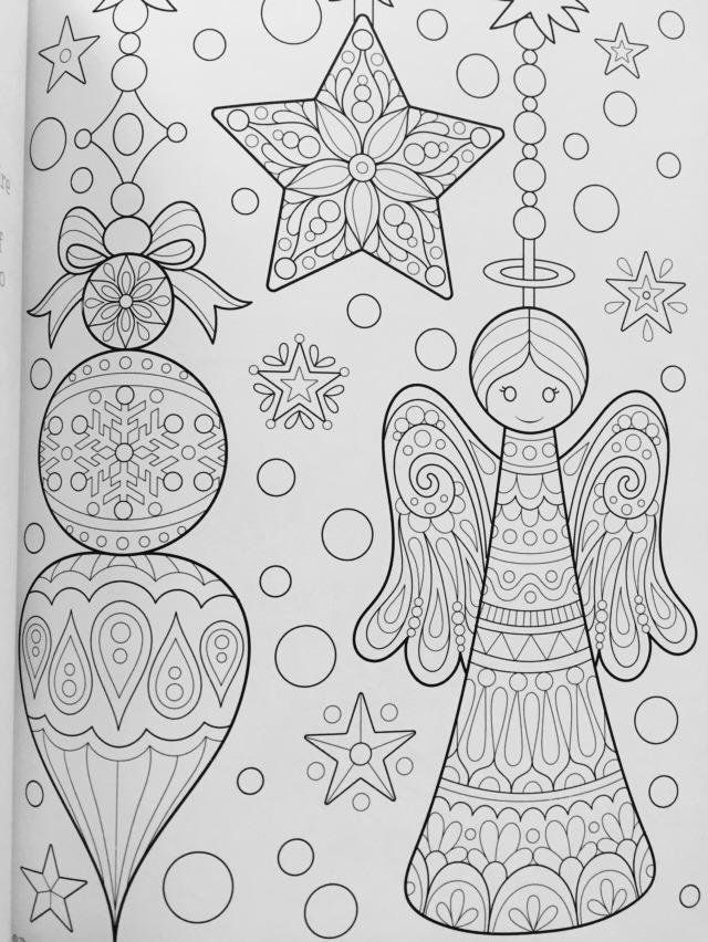 Christmas Coloring Book Is Fun Thaneeya McArdle