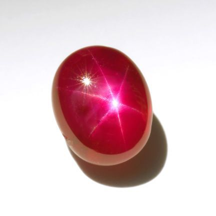 The typical size range for star rubies is 1ct to 10cts, but much larger stones exist.  One of the largest fine-quality star rubies on public display is the Smithsonian Institution's 137-ct Rosser Reeves Ruby