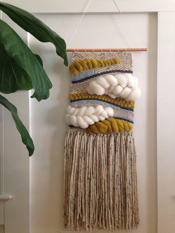 Woven Wall Hanging handmade woven wall hanging | w e a v e | pinterest | walls