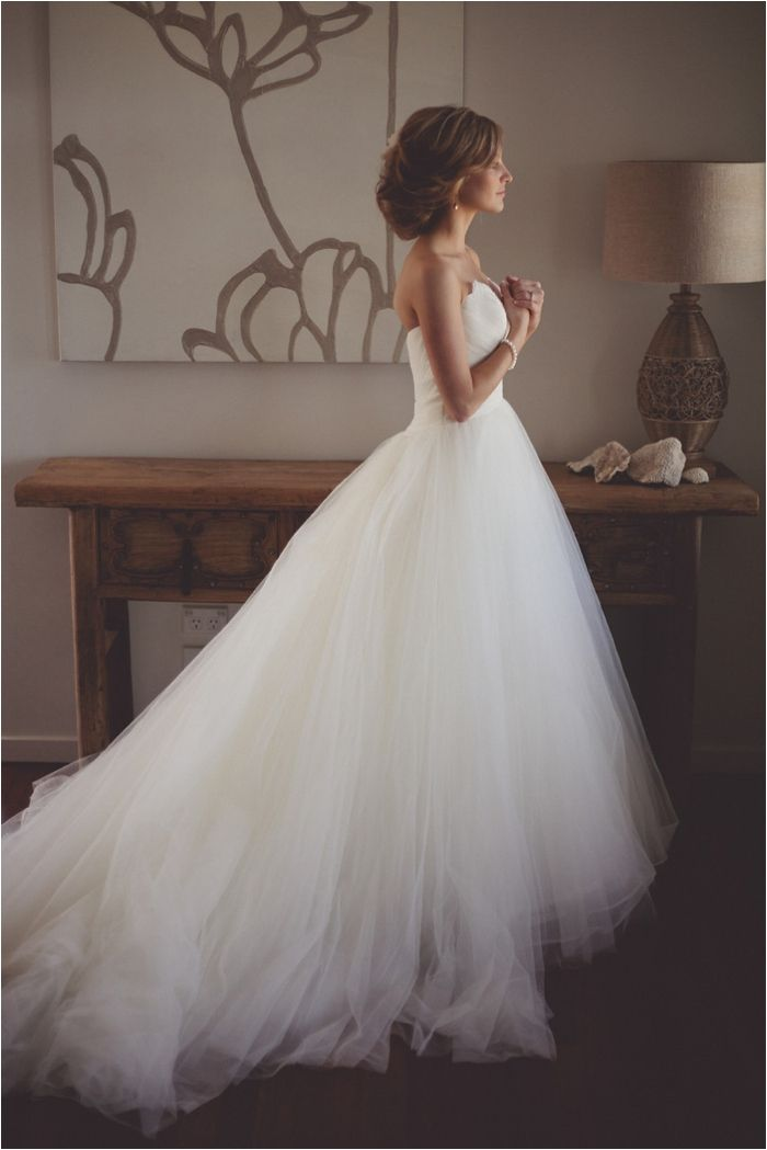 Love the tulle.