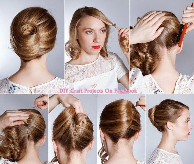 17 mejores im genes sobre peinados paso a paso en - Peinados bonitos paso a paso ...