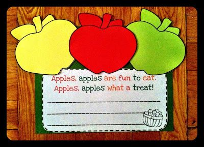 Just Wild About Teaching: Fun with Apples Unit!