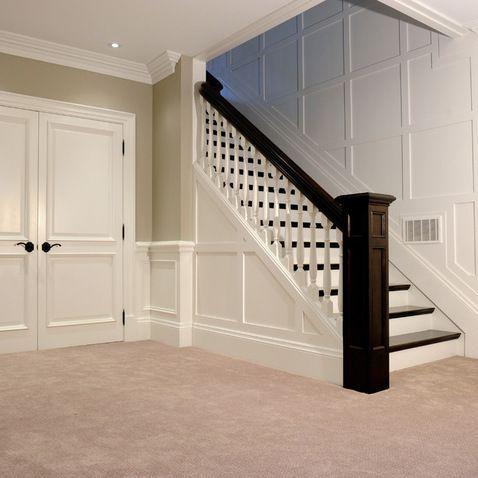best 25 open basement stairs ideas on pinterest open basement basement staircase and. Black Bedroom Furniture Sets. Home Design Ideas