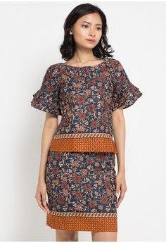 Wanita > Pakaian > Atasan > Blouse > Blouse Cotton Print > Batik Solo